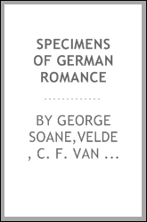 Specimens of German romance