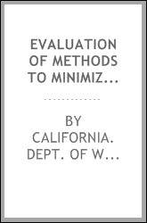 Evaluation of methods to minimize contamination hazards to wildlife using agricultural evaporation ponds in the San Joaquin Valley, California : final report