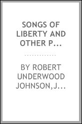 Songs of liberty and other poems
