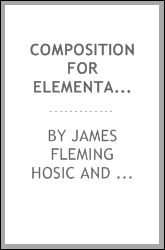 Composition for elementary schools; a composition grammar