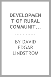 Development of rural community schools in Illinois