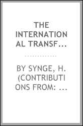 The International Transfer Format (ITF) for botanic garden plant records. Version 01.00