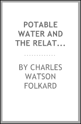 Potable Water and the Relative Efficiency of Different Methods of Detecting Impurities