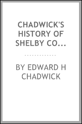 Chadwick's History of Shelby County, Indiana