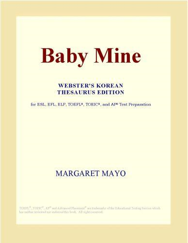download baby <b>mine</b> (webster's korean thesaurus edition)