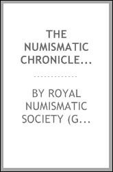 download The numismatic chronicle and journal of the Royal Numismatic Society book