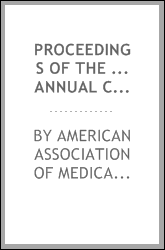 Proceedings of the ... Annual Conference of the American Association of ...