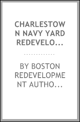 download Charlestown navy yard redevelopment, final supplemental environmental impact report. E.o.e.a.#02383 book