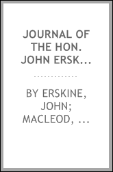 Journal of the Hon. John Erskine of Carnock, 1683-1687