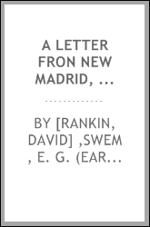 A letter fron New Madrid, 1789