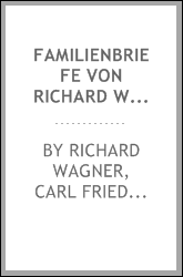 download familienbriefe von richard wagner, 1832-1874 book
