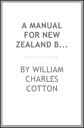 A manual for New Zealand bee keepers