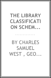 The Library Classification Scheme of the School of Application for Cavalry and Field Artillery