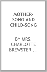Mother-song and child-song