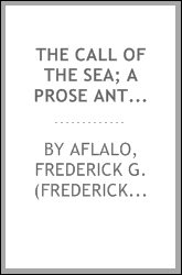 The call of the sea; a prose anthology