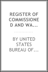 Register of Commissioned and Warrant Officers of the United States Navy and Marine Corps and ...