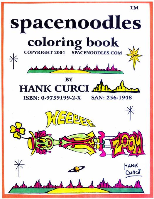 Spacenoodles Coloring Book