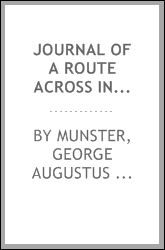 Journal of a route across India, through Egypt, to England, in the latter end of the year 1817, and the beginning of 1818