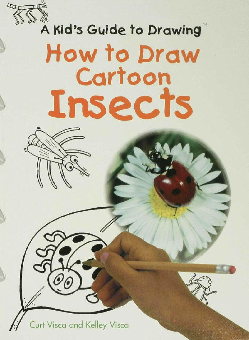 How to Draw Cartoon Insects