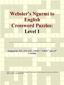 download Webster's Ngurmi to English Crossword Puzzles: Level 1 book