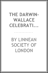 download The Darwin-Wallace celebration held on Thursday, 1st July, 1908 book