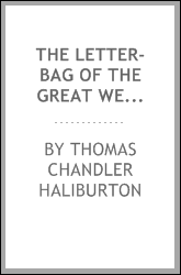The letter-bag of the Great Western: or, Life in a steamer