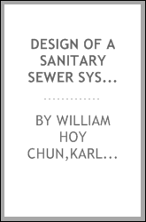 Design of a sanitary sewer system and disposal plant for the village of Crete, Ill.