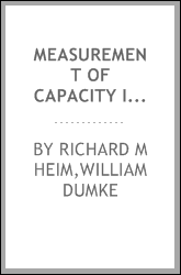 Measurement of capacity in transmission lines and cables