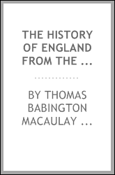 download The History of England from the Accession of James II. book