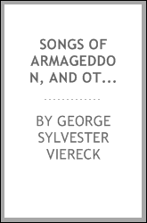 Songs of Armageddon, and other poems