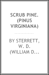 download Scrub pine. (Pinus virginiana) book