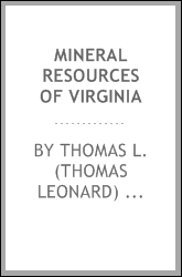 Mineral resources of Virginia