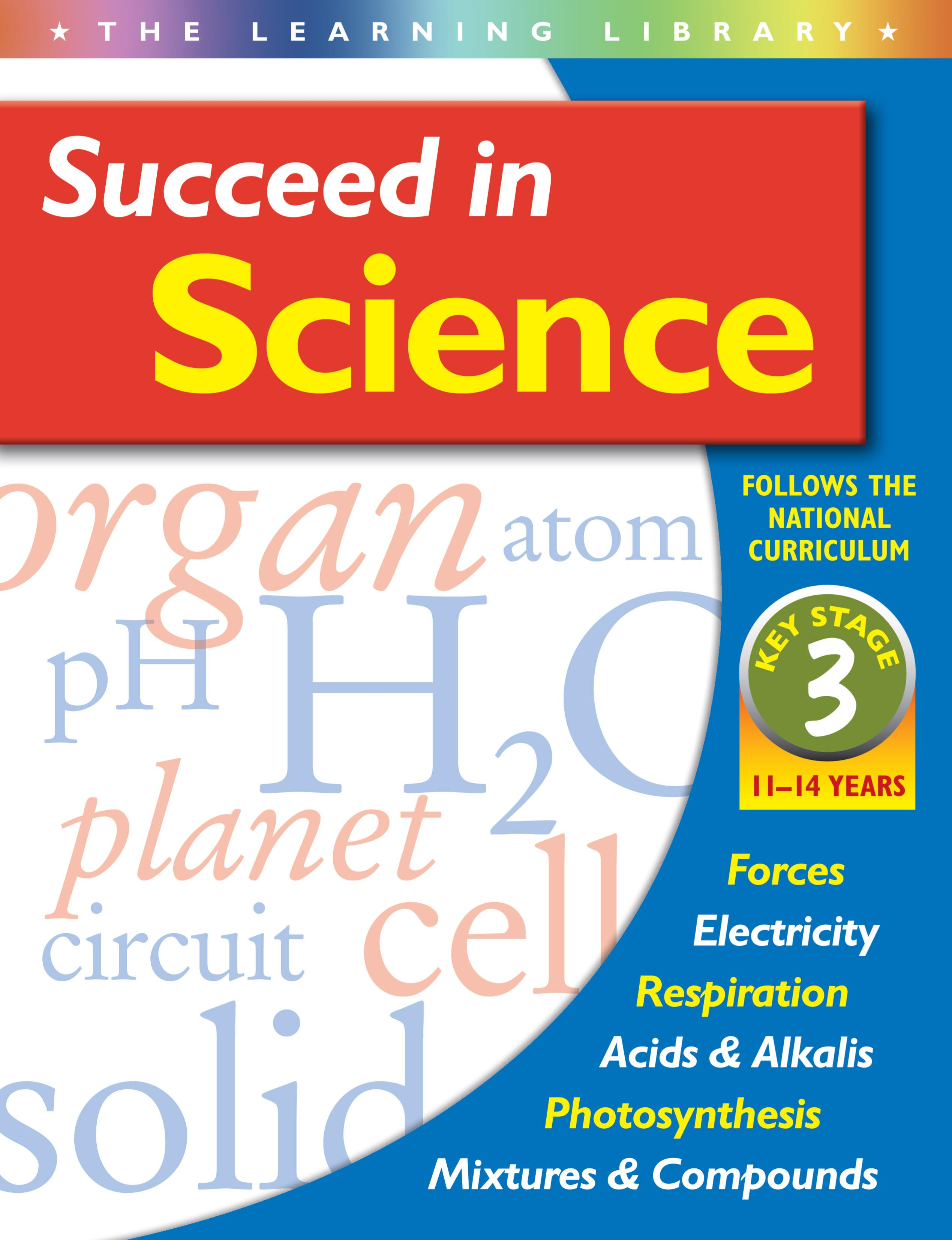 Succeed in Science 11-14 years key stage 3