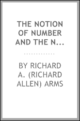 The notion of number and the notion of class