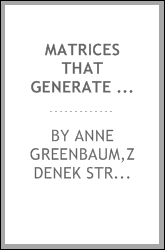 download matrices that generate the <b>same</b> krylov residual spaces