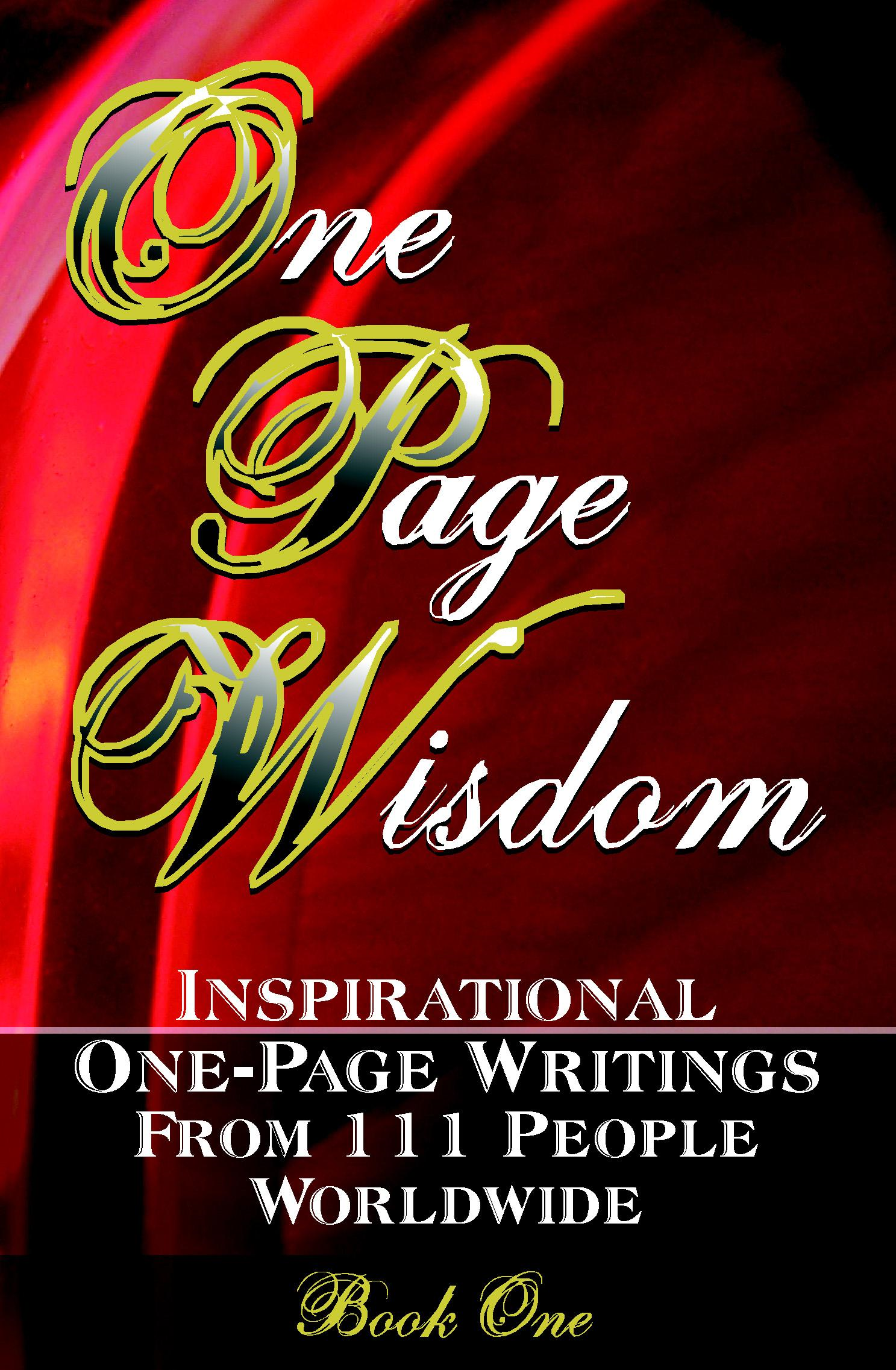 One Page Wisdom: Book One By: New Age Directories