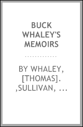 Buck Whaley's Memoirs