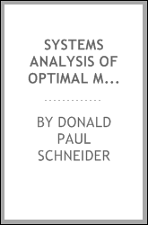 Systems analysis of optimal manpower utilization in health maintenance organizations.