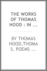 download The works of Thomas Hood : in six volumes book