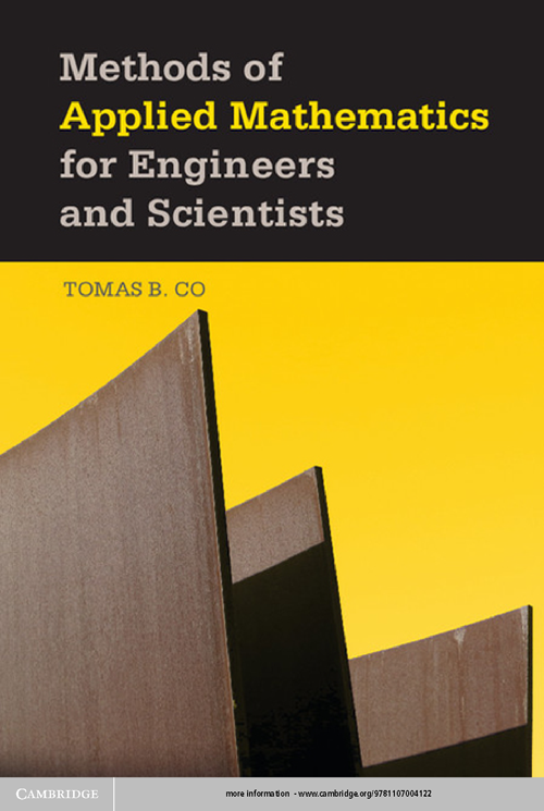 Methods of Applied Mathematics for Engineers and Scientists