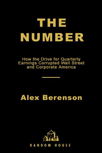The Number By: Alex Berenson