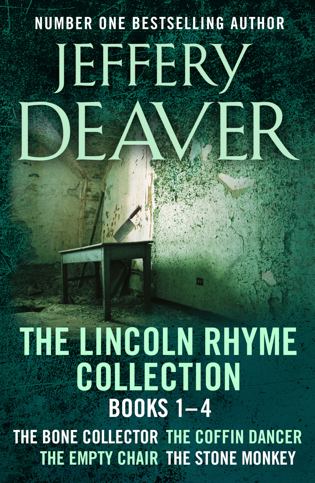 The Lincoln Rhyme Collection 1-4 The Bone Collector, The Coffin Dancer, The Empty Chair, The Stone Monkey