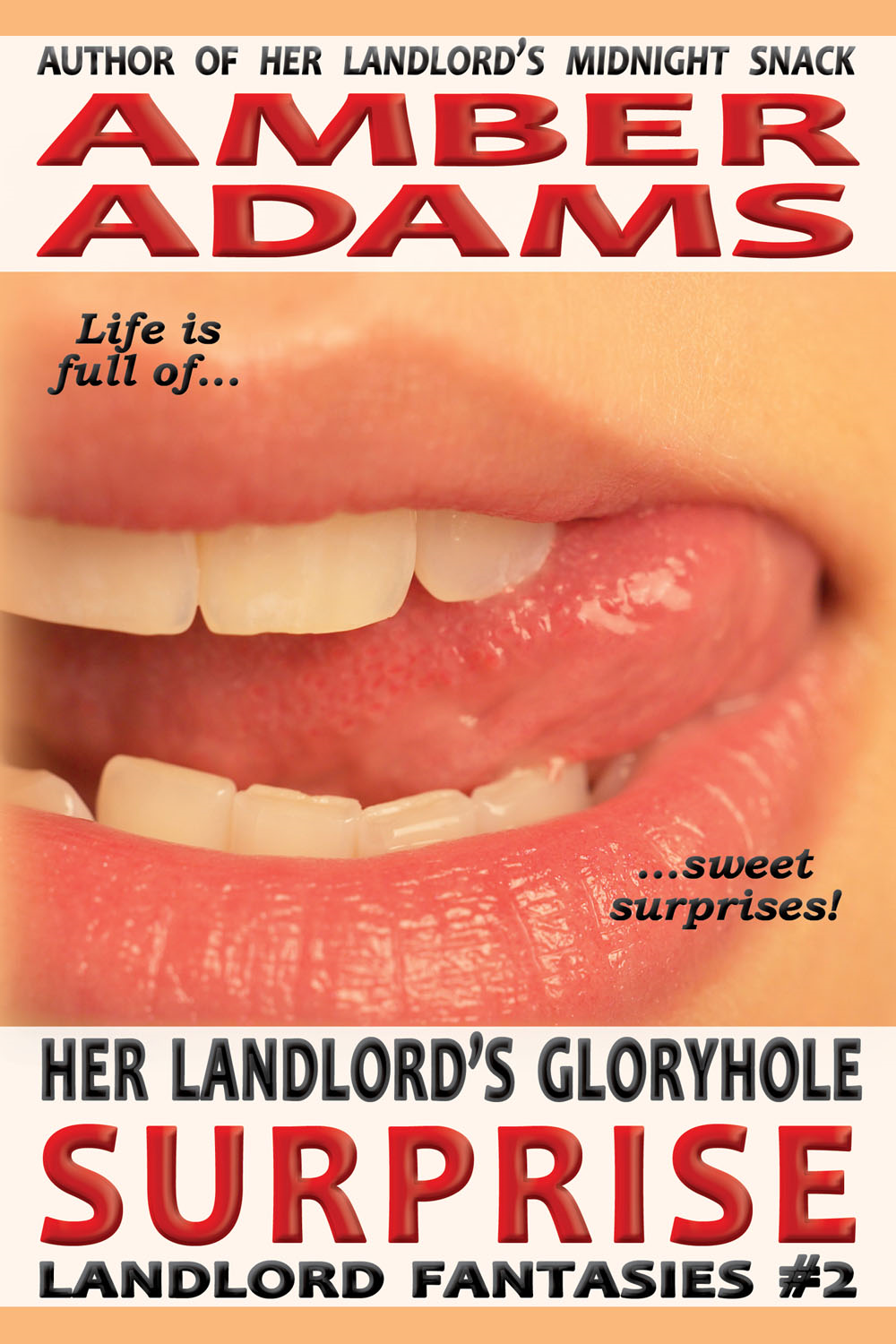Amber Adams - Her Landlord's Gloryhole Surprise
