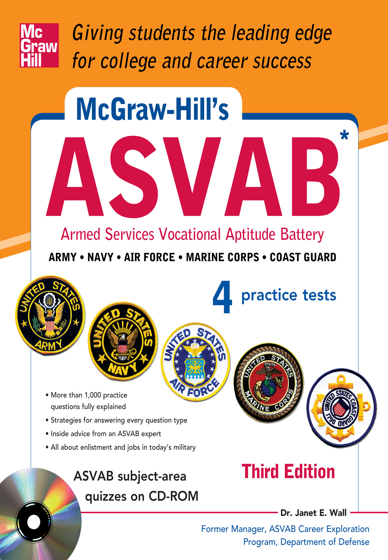 McGraw-Hill's ASVAB with CD-ROM, 3rd Edition