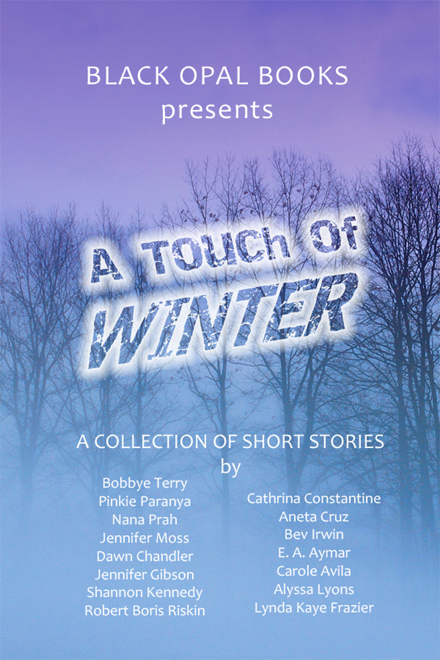 Black Opal Authors - A Touch of Winter
