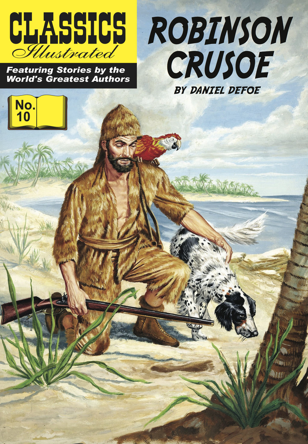Robinson Crusoe - Classics Illustrated #10