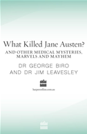 What Killed Jane Austen? And Other Medical Mysteries, Marvels And Mayhem: