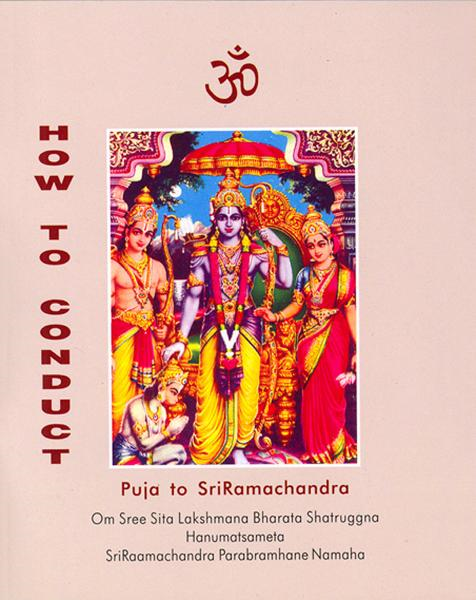 How to Conduct Puja to SriRamachandra