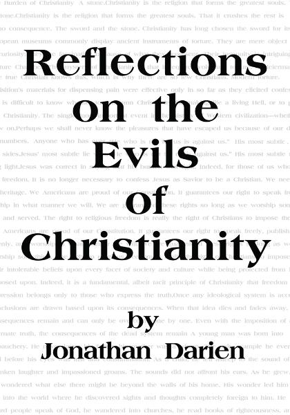 Reflections on the Evils of Christianity
