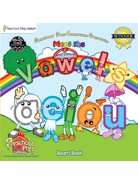 Meet the Vowels Board Book By: Kathy Oxley